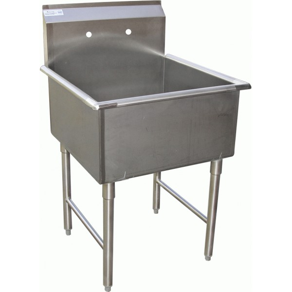 Stainless Mop Sink : compartment stainless steel Food Prep. sinks or Mop sinks