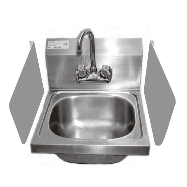Sink Splash Guard Stainless Steel Hand Sink Splash Guards