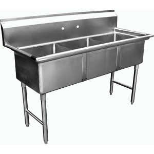ACE -- Atlanta Culinary Equipment, Inc. - 3 comp. sinks without ...