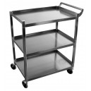 "Solid 1"" tubular utility carts"