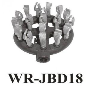 "Chinese Wok Range 18 Tips Duck Mouth Burner Dia 7-1//2/"" Propane Gas WR-JBD18LP"